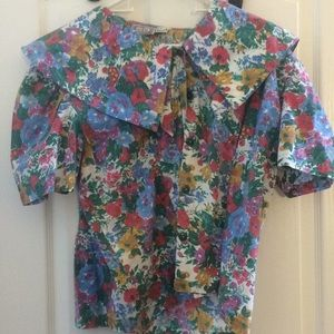 Ladies bonjour blouse 22w